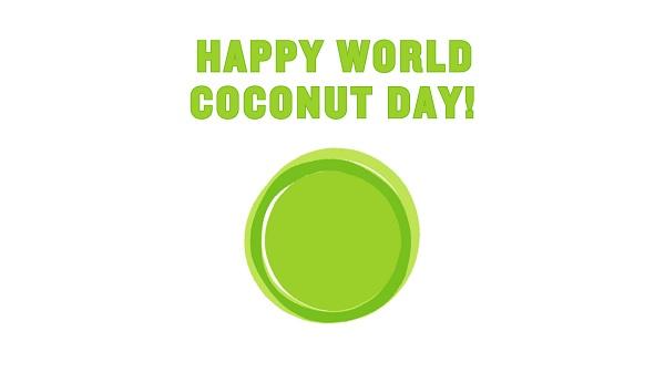 Happy World Coconut Day Whatsapp DP
