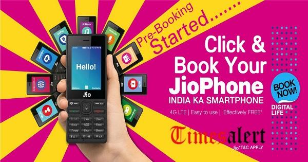 Jio Free Phone Booking