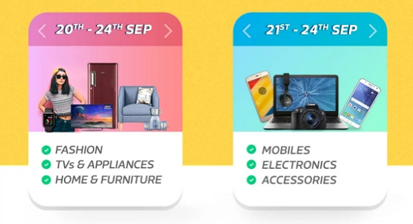 Flipkart Big Billion Day Offers 2017