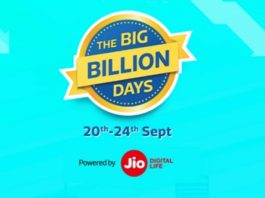 Flipkart Big Billion Day Sales 2017