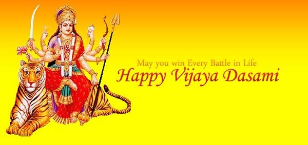 Happy Vijaya Dashami Facebook Status Images