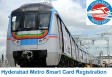 Hyderabad Metro Rail Smart Card Registration