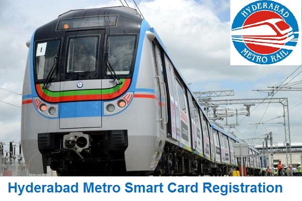 Hyderabad Metro Rail Smart Card Registration