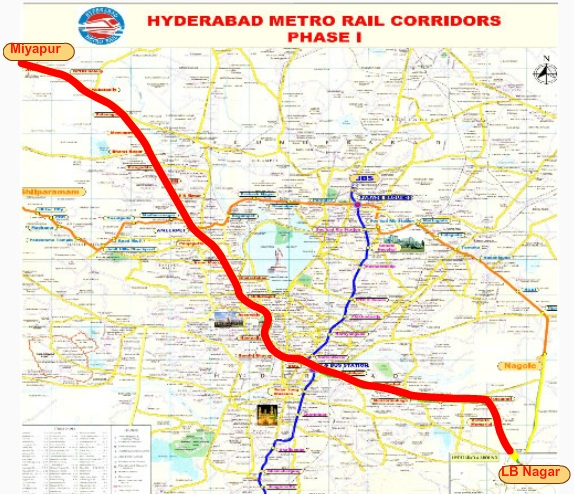 Hyderabad Metro Rail Stations