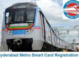 Hyderabad Metro Smart Card Registration