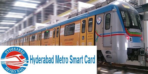 Hyderabad metro Rail Smart Card