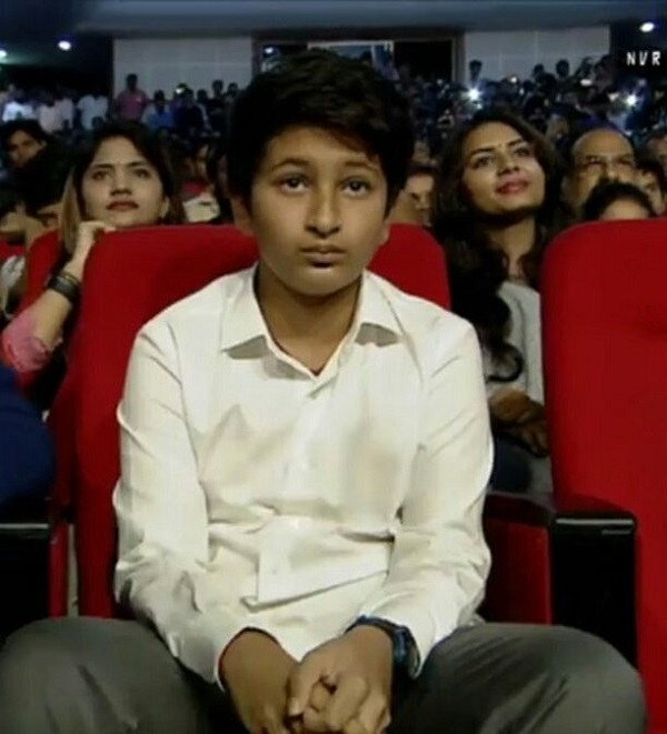 Mahesh Babu Son Photos At Spyder Pre Release Event