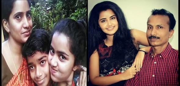 Anupama Parameswaran Family