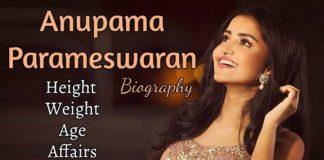 Anupama Parameswaran biod