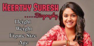 Keerthy Suresh bio