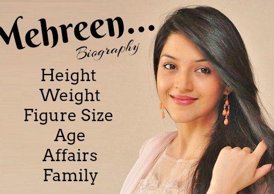 Mehreen Kaur Pirzada bio