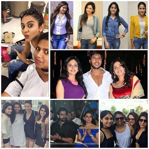 Rakul Preet Singh friends
