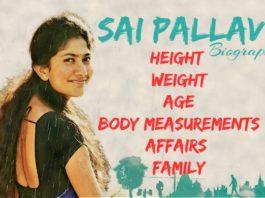Sai Pallavi bio