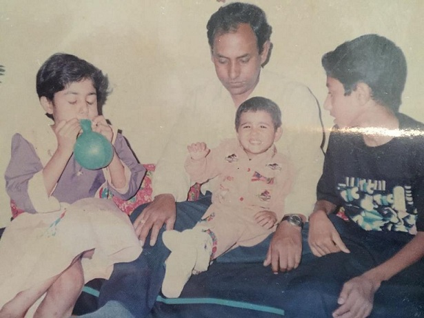 Shalini Pandey Family