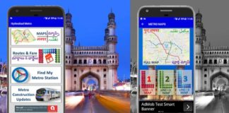 Hyderabad Metro Rail App