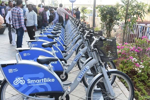 Hyderabad Metro Rail Smart Bike