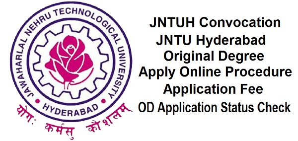 JNTUH OD Apply Online