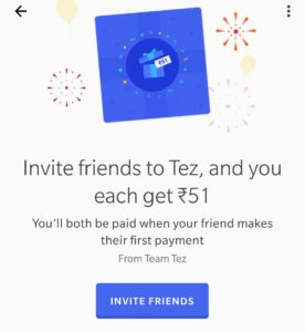 Tezz App Refer and Earn
