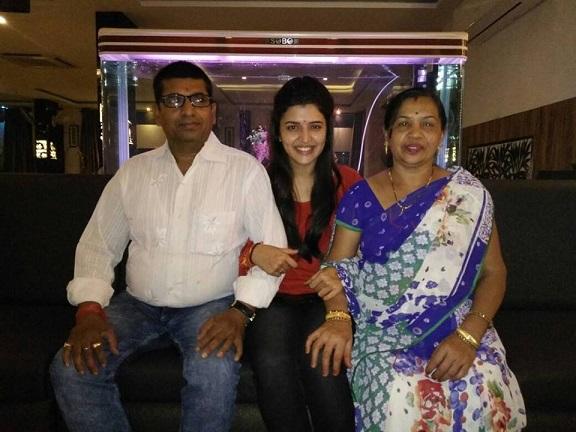 Chitra Shukla Family