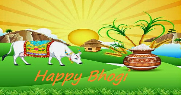 Happy Bhogi Sankranti Cards