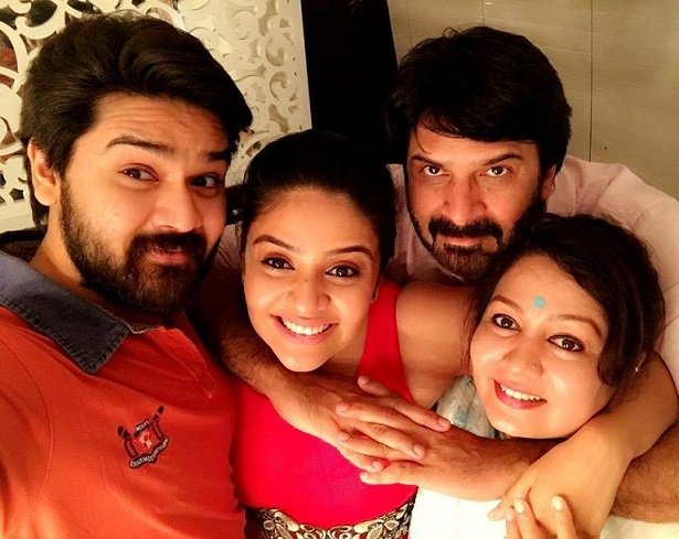Sreemukhi Father Mother Brother Family