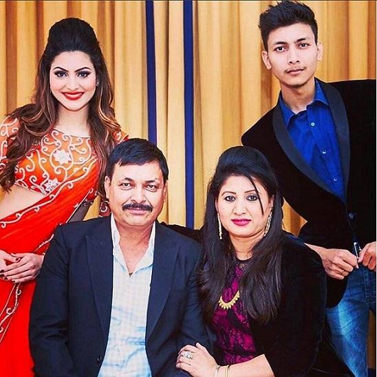 Urvashi Rautela Family
