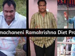 Veeramachaneni Ramakrishna Diet Program