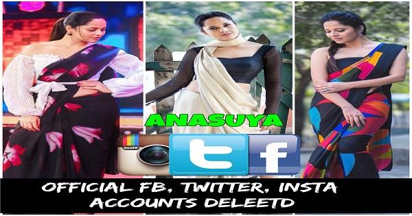 Anasuya Bharadwaj Official Facebook