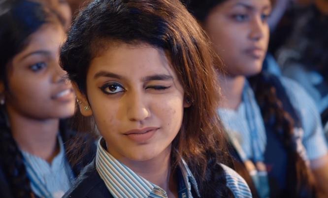 Priya Prakash Warrier Cute Expression