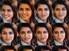 Priya Varrier Cute Expressions Pic