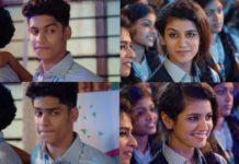 Priya Varrier cute expressions