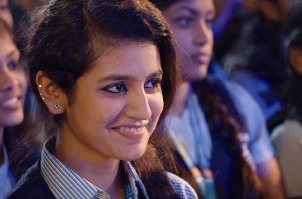 Priya Warrier Cute Expression