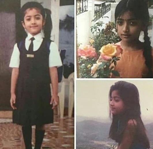 Rashmika Mandanna Childhood Pics