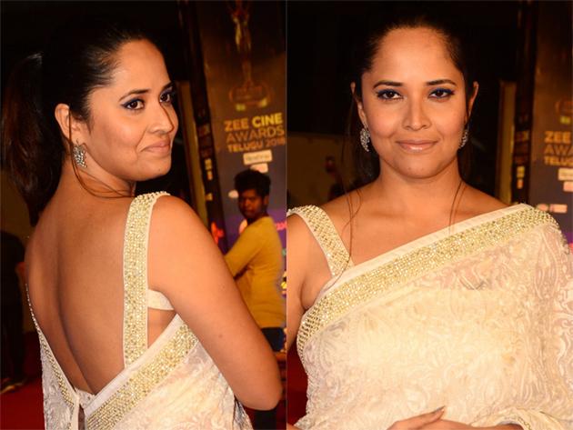 Anasuya at Zee Cine Awards