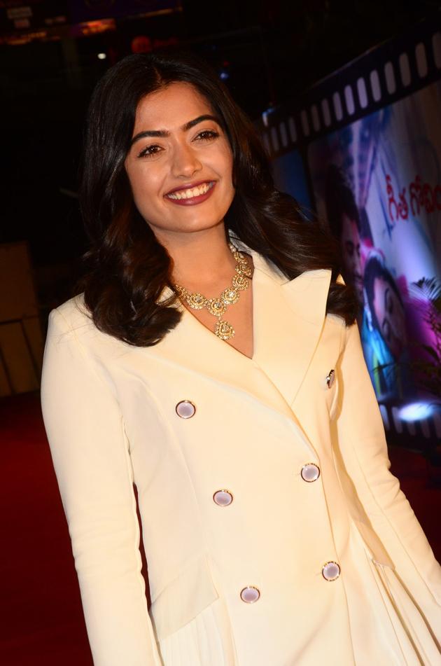 Rashmika Mandanna at Zee Cine Awards