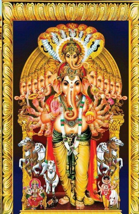 Khairatabad Ganesh 2019 Poster