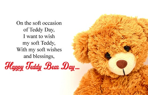 Happy Teddy Day Pics