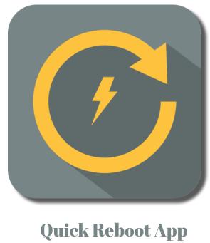 Quick Reboot App