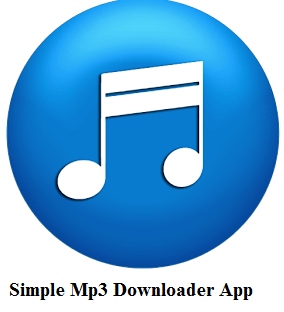 Simple Mp3 Downloader App