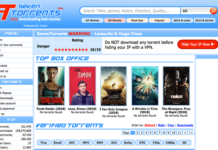 7torrents proxy Scrrenshot
