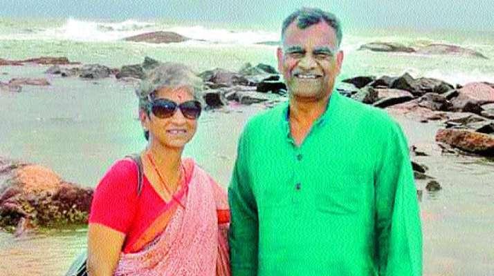 Abhinandan Varthaman Father Mother Photo