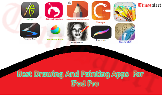 Best Drawing And Painting Apps For iPad Pro
