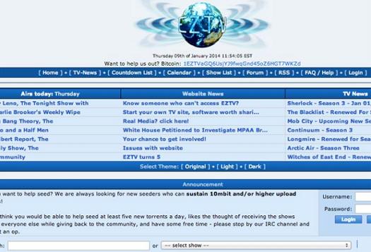EZTV Proxy & Mirror sites