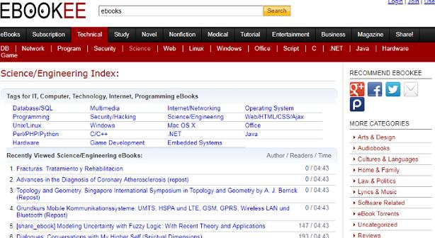 Ebookee Proxy Site