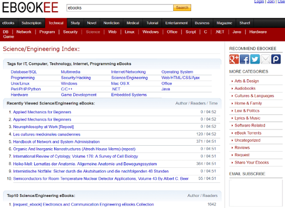 Ebookee Proxy and Mirror Sites