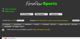 FirstRow Sports Proxy Sites