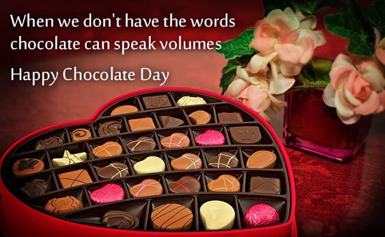 Happy Chocolate Day For Boyfriend