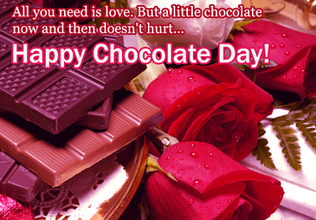 Happy Chocolate Day Girlfriend