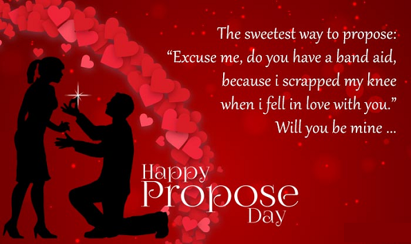 Happy Propose Day For Girlfriend