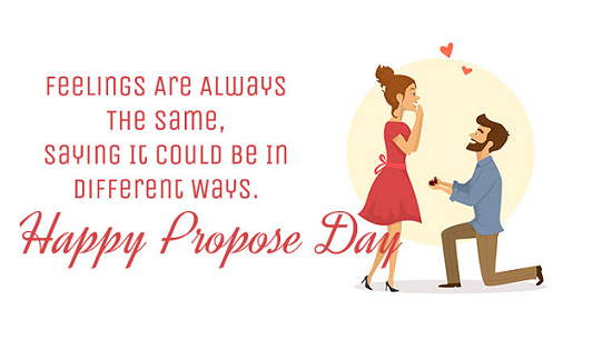 Happy Propose Day Whatsapp Status